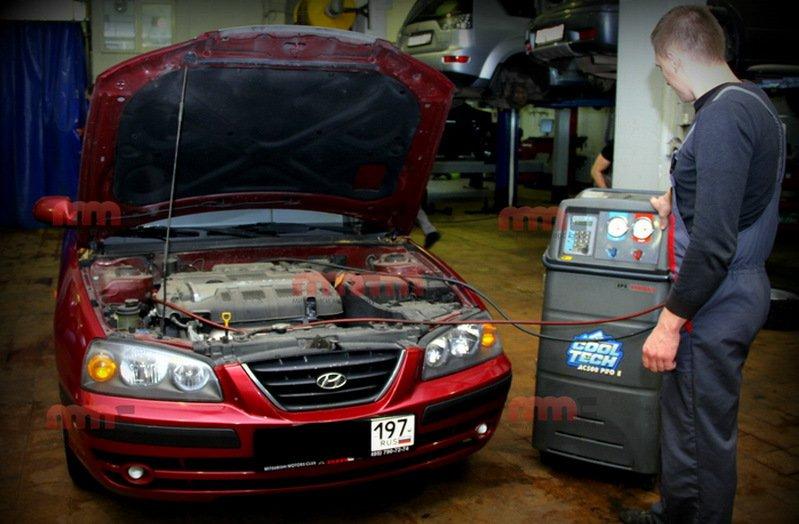 техническое обслуживание Hyundai